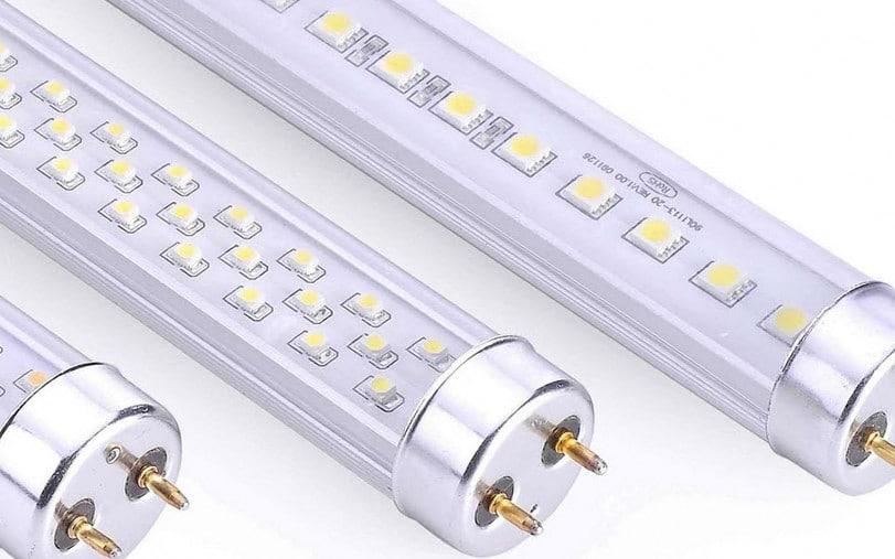 Внешний вид лампы освещения на светодиодах