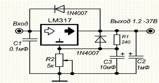 стабилизатор напряжения на 12 вольт