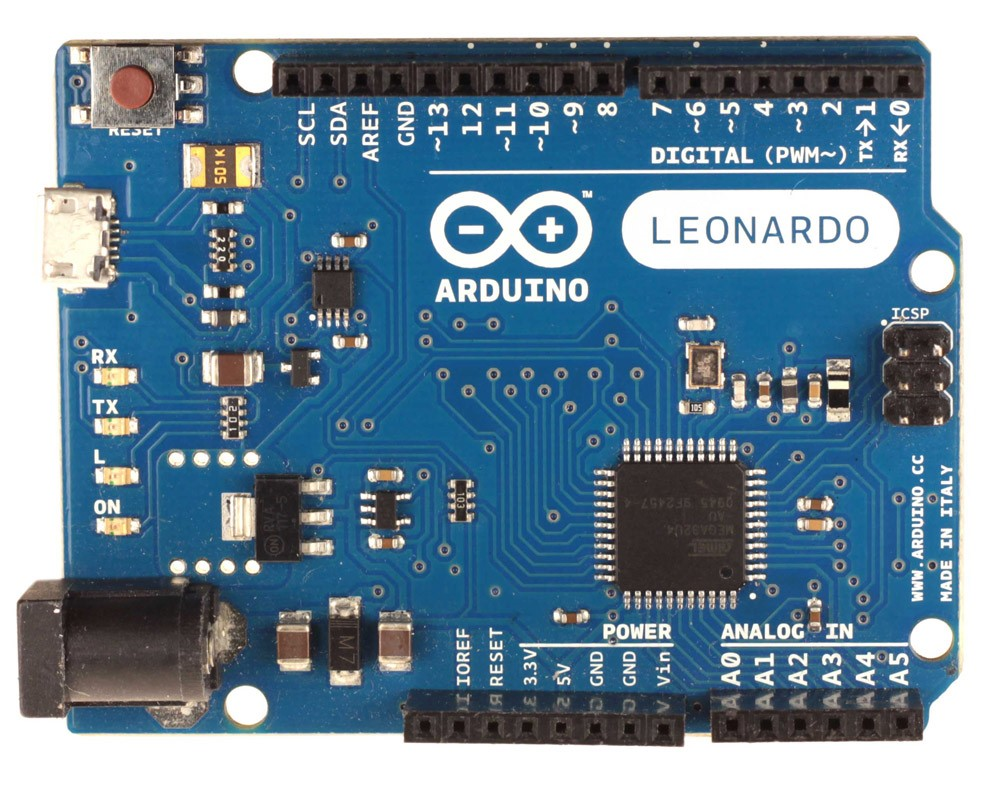 Микропроцессор ардуино