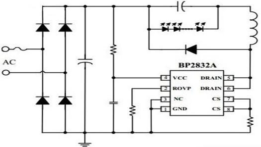 Схема подключения bp2832