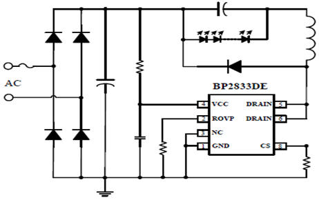 Схема включения bp2833