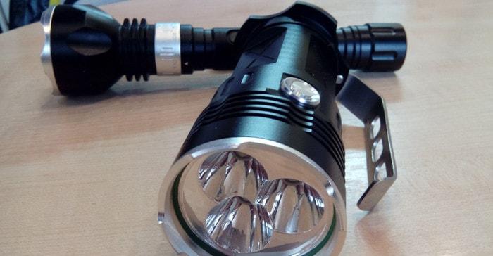 Выбираем мощный светодиодный фонарик