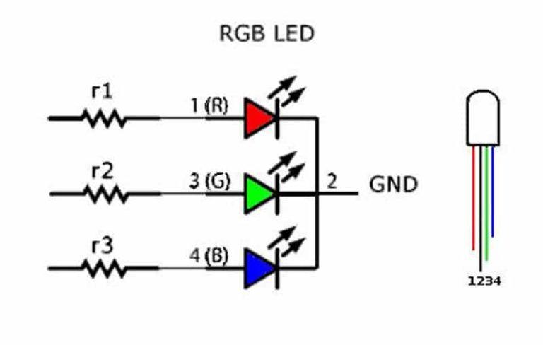Где у светодиода анод катод (как определить плюс у светодиода)