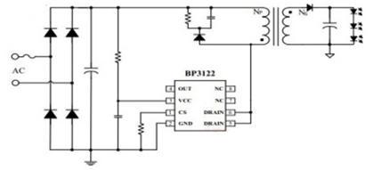 Схема включения bp3122