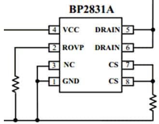Схема bp2831