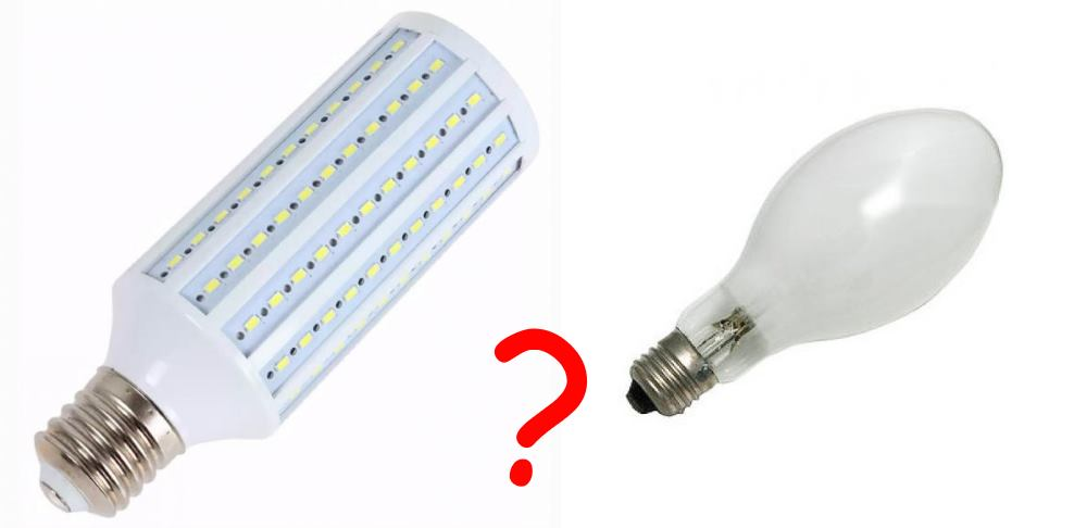 Светодиоды или ДРЛ