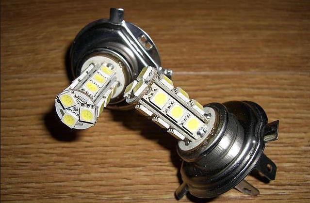 Светодиодные лампы в головной свет