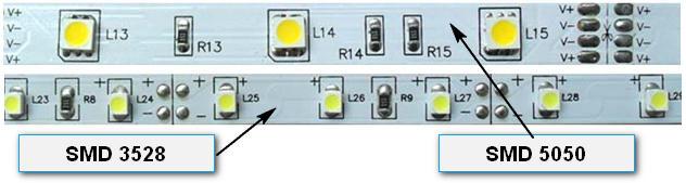 Расположение резисторов