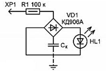 Проверка наличие фазы в проводнике