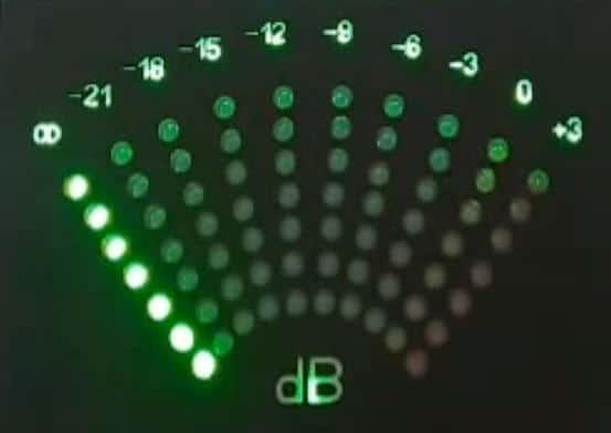 Индикатор уровня сигнала на светодиодах