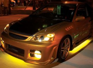 Установка светодиодной подсветки на авто