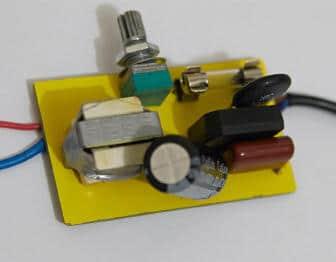 Схема драйвера питания светодиодов от сети 220 вольт