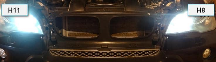 Сравнение разных цоколей ламп на авто