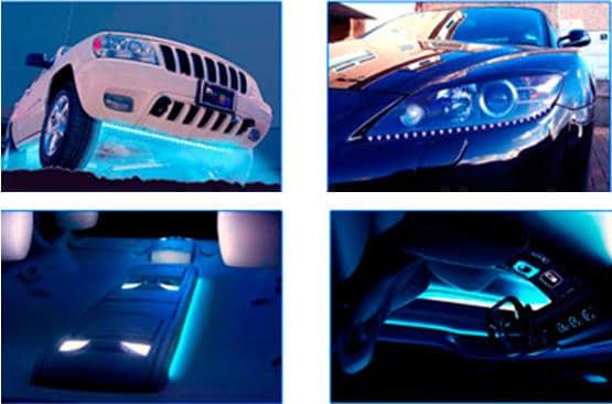 Как подключить светодиодную ленту в автомобиле