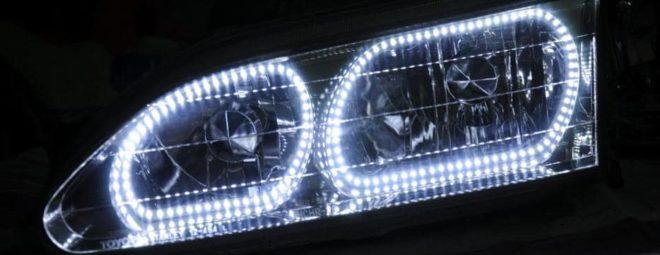 Светодиоды в фарах авто
