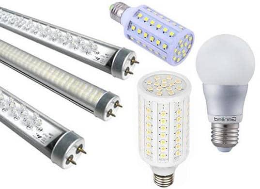 Технические характеристики диодных ламп