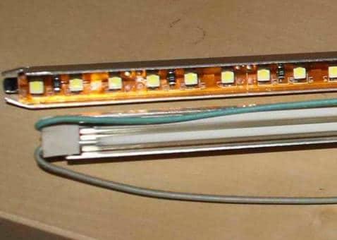 Замена подсветки монитора на светодиоды