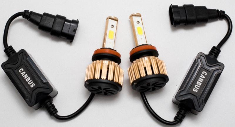 Самые яркие лампы h11, тестирование ламп