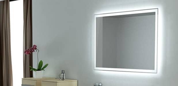 Подсветка зеркала в ванной