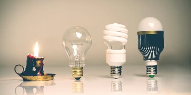 Эволюция освещения
