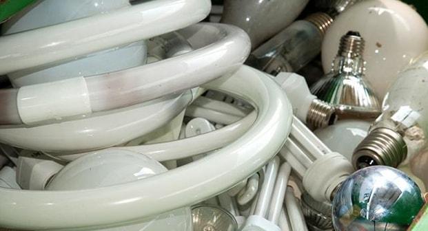 Люминесцентные лампы для переработки