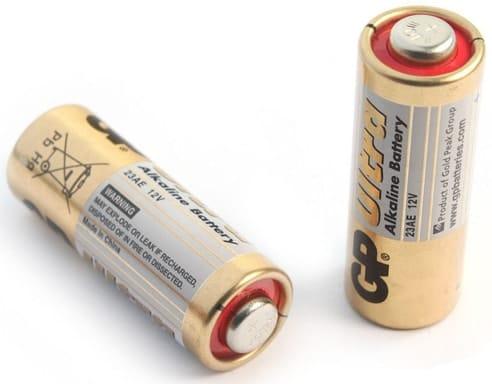 12 вольтовая батарейка