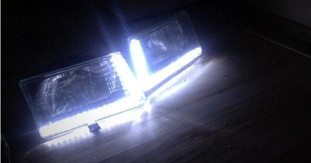 ДХО из светодиодной ленты