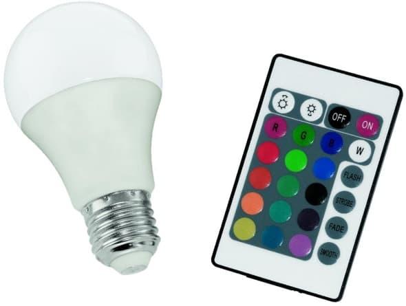 RGB лампочки