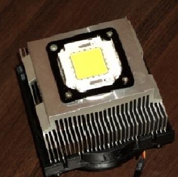 Радиатор от ПК