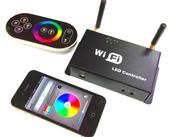 RGB контроллер с управлением со смартфона