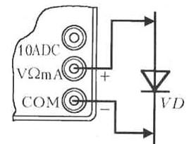 Схема проверки диода мультиметром
