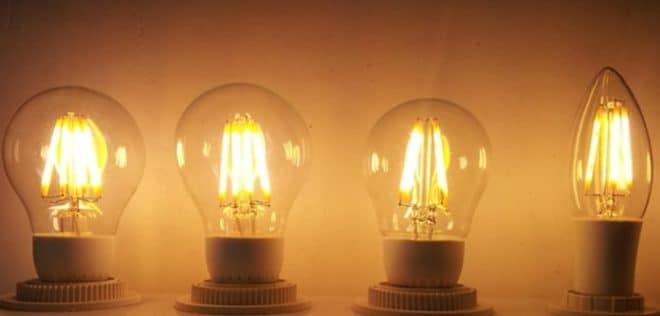 Так выглядит филаментная лампа