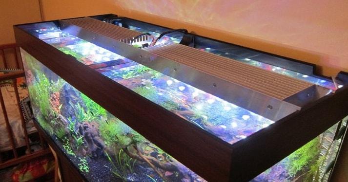Led светильник для аквариума своими руками фото 500