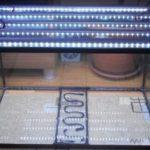 Подсветка на крышке аквариума