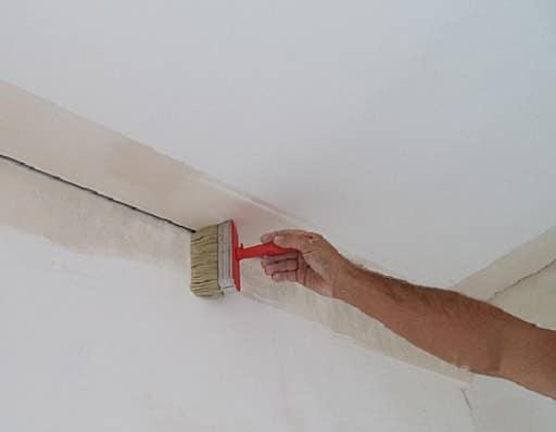 Очистить поверхность перед поклейкой