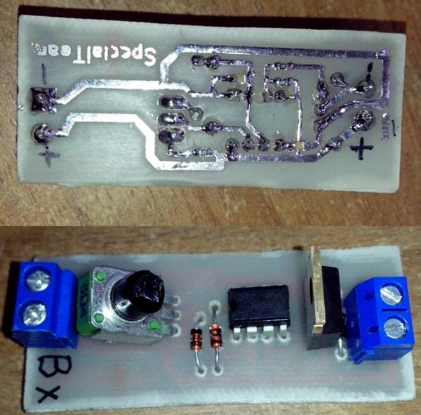 Самодельный диммер для светодиодов