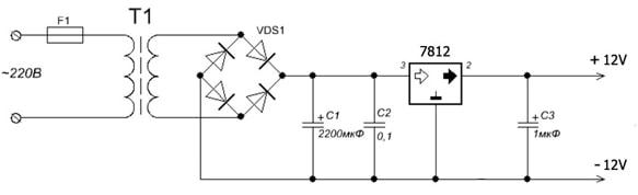 Схема БП №3