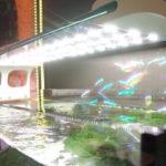 Стационарное освещение над аквариумом