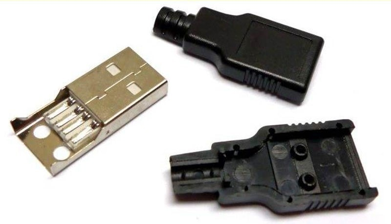 Разборный USB штекер