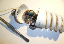 Использование платы питания энергосберегающей лампы в качестве драйвера для светодиодов
