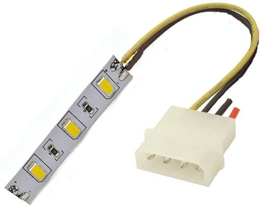 Подключение LED ленты к блоку питания