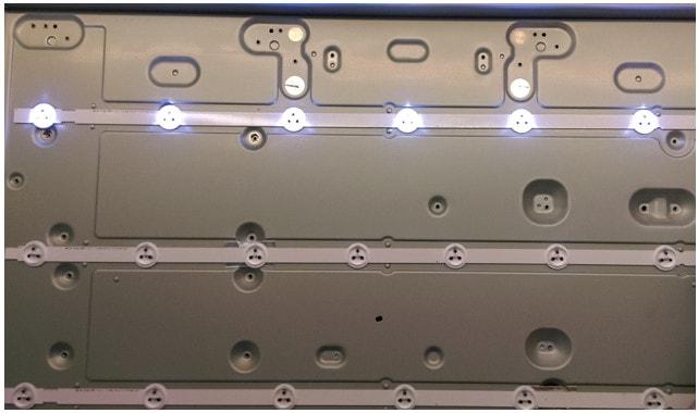 LED-подсветка в корпусе монитора