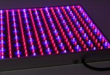 Светодиодный светильник для теплиц