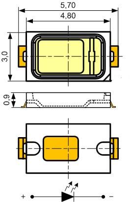 Типоразмеры SMD 5730
